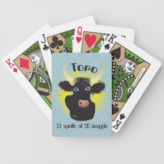 Toro 21 April Al 20 maggio Giochi di carte Bicycle Playing Cards
