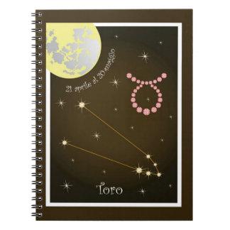 Toro 21 April Al 20 maggio note booklet Notebooks