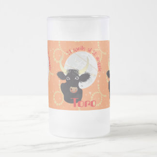 Toro 21 April Al 20 maggio Tazze Frosted Glass Beer Mug
