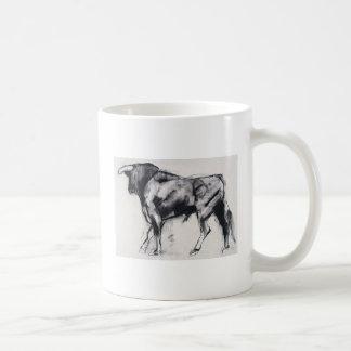 Toro Azul study Coffee Mug