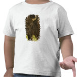 Toro del bisonte en la gama nacional del bisonte, camiseta