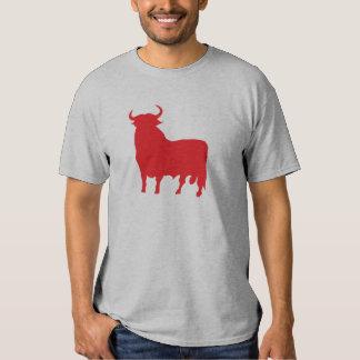 toro rojo remera