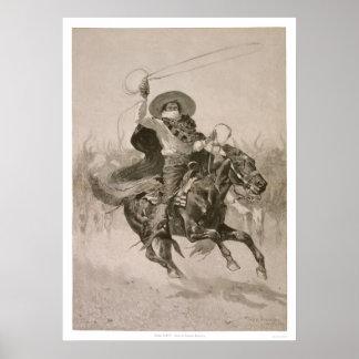 Toro, Toro de Federico Remington Posters