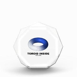 Toroid Inside (Blue Torus) Acrylic Award