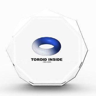 Toroid Inside (Blue Torus) Award
