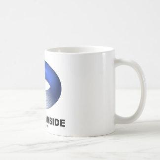 Toroid Inside (Blue Torus) Coffee Mug