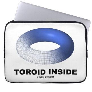 Toroid Inside (Blue Torus) Computer Sleeves