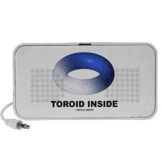 Toroid Inside (Blue Torus) Speaker
