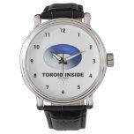 Toroid Inside (Blue Torus) Wrist Watch