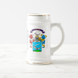 Torok, the Origin, the Meaning and the Crest Beer Stein