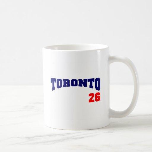 Toronto 26 tazas de café