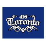 Toronto 416 tarjetas postales