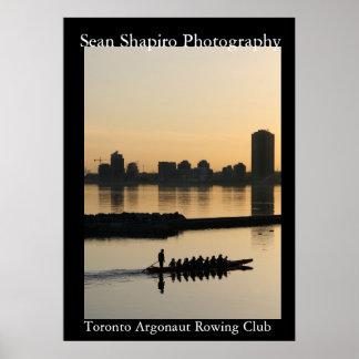 Toronto Argonaut Rowing Club Print