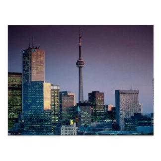 Toronto by night Ontario Canada Post Cards