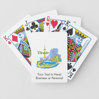 toronto canada city graphic image.png bicycle playing cards