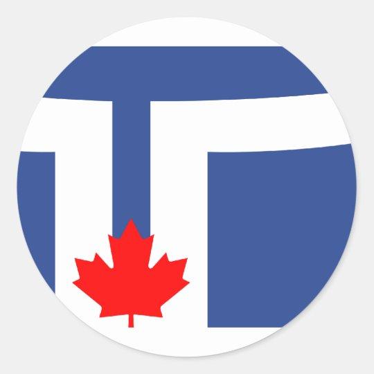 Toronto, Canada Classic Round Sticker