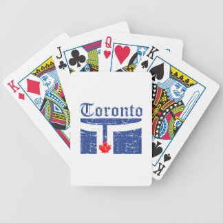 toronto Canada designs Bicycle Playing Cards