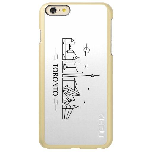 Toronto Canada Lineart iPhone Case