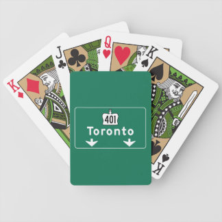 Toronto, Canada Road Sign Card Deck