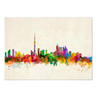 Toronto Canada Skyline Personalised Invitation