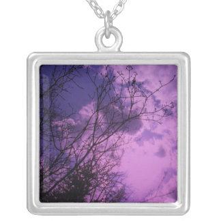 TORONTO CENTRE ISLAND Fall Tree n sky Necklace