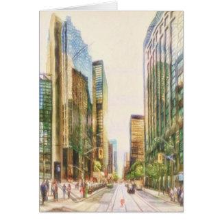 Toronto céntrico por el mac de Shawna Tarjeta De Felicitación