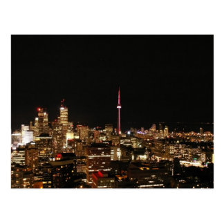 Toronto City Lights Post Cards