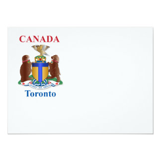 Toronto coat of arms card