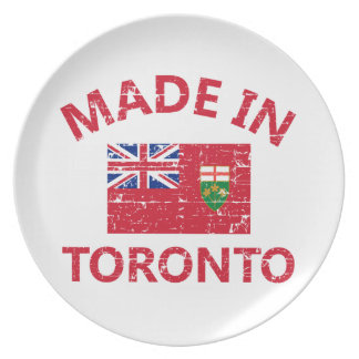Toronto Coat of arms Party Plates