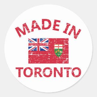 Toronto Coat of arms Round Stickers