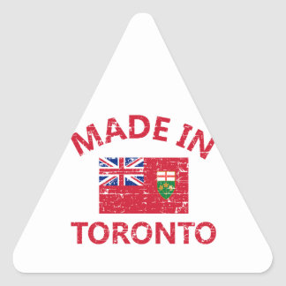 Toronto Coat of arms Triangle Sticker