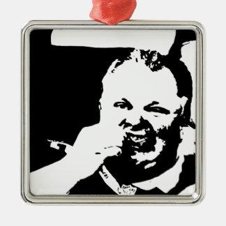 Toronto Crack Smoking Mayor Rob Ford Metal Ornament