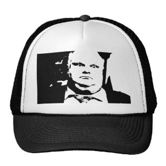 Toronto Crack Smoking Mayor Rob Ford Trucker Hat