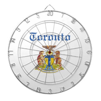 toronto Designs Dartboard With Darts