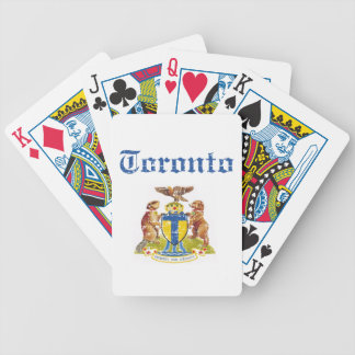 toronto Designs Bicycle Playing Cards