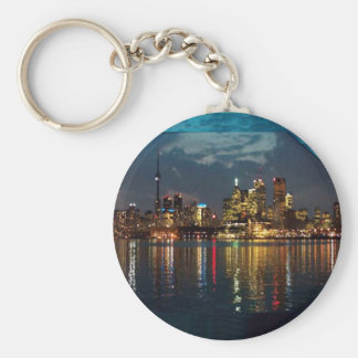 Toronto DownTown Spectacle CNTower Waterfront fun Keychain