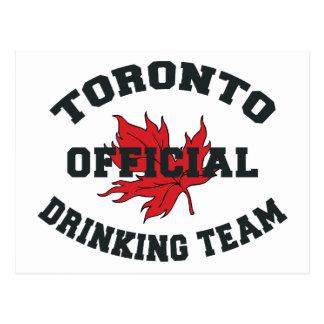 Toronto Drinking Team Postcard
