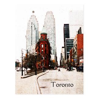 Toronto edificio plano del hierro postal