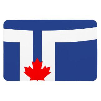 TORONTO Flag Rectangular Photo Magnet