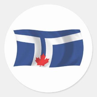Toronto Flag Sticker