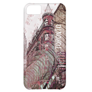 Toronto flat iron building collage i-phone case iPhone 5C covers