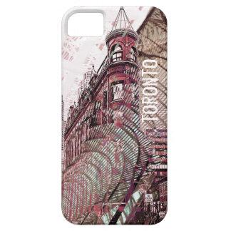 Toronto flat iron building collage i-phone case iPhone 5 case