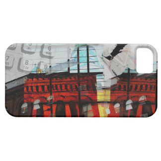 toronto flat iron building urban collage iPhone SE/5/5s case