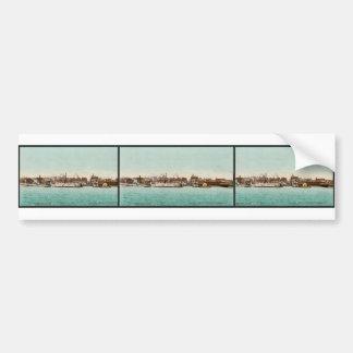 Toronto from the bay classic Photochrom Bumper Sticker