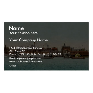 Toronto from the bay classic Photochrom Double-Sided Standard Business Cards (Pack Of 100)