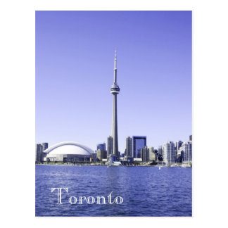 Toronto harborfront postcard