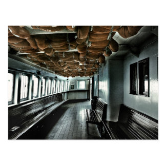Toronto island ferry postcard