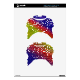 TORONTO Island Rainbow Waves Xbox 360 Controller Decal