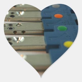 Toronto Keys by Spadina Security Heart Sticker