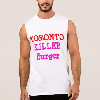 TORONTO KILLER BURGER SLEEVELESS T-SHIRT
